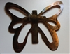 Butterfly Cross Metal Wall Art Decor
