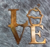 Love Cupcakes Metal Wall Art