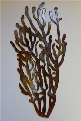 Coral Branch Style #1 Metal Decor