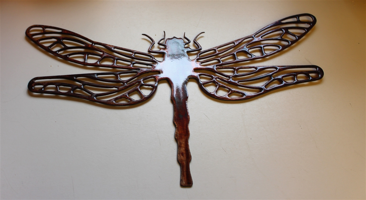 Patterned WALL ART DECOR copper/bronze plated 16  x 10  & Email