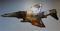 F-4 Phantom Metal Wall Art Decor