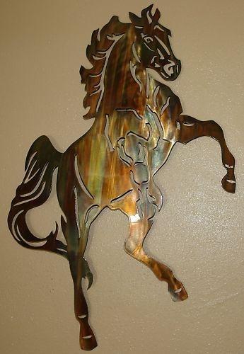 Metal Horse Wall Art twitter