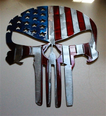 Eagle Flag Metal Wall Art