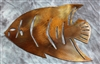 French Angelfish Metal Wall Accent