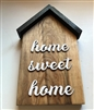 Small House Wood Decor Home Sweet Home