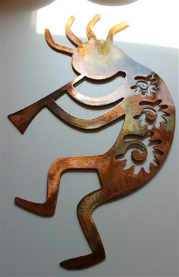 Copper/Bronze Arizona Kokopelli