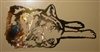 Lazy Wolf Metal Art Decor