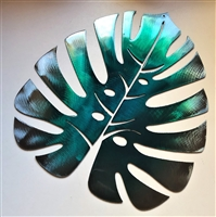 Monstera Metal Wall Art Accent