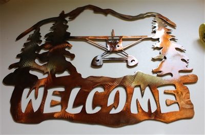 Airplane Welcome Sign
