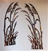 Sea Oats Metal Wall Decor Accents