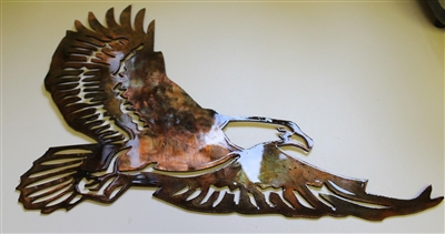 Soaring Eagle Metal Wall Art