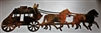 Old West Stagecoach Metal Wall Decor