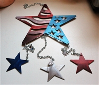 Stars & Stripes Wind chime/Mobile