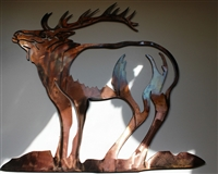 "Standing Strong ""Elk"" Metal Wall Art by HGMW"