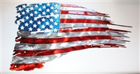 Flag Metal Wall Art, American Flag Metal Wall Art