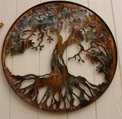 Tree Of Life Metal Wall Art 24 Quot By Hgmw