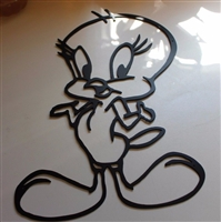 Tweety Bird Metal Wall Art