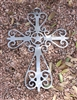 Western Cross Metal Art