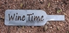 Wine Time Metal Wall Art