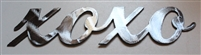 XOXO Metal Wall Decor Accent