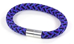 "Suki Nautical - 5/16"", Purple Mix"