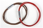 Trio Bracelets - Natural Leather