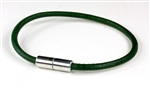"Suki - 4mm (5/32"")  Green Round Leather"