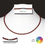 "Suki - 3mm (1/8"") (1/8"") Braided Leather Necklaces"
