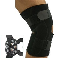 Universal ROM Hinged Knee Wrap