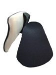 "Custom Made Orthotics 3/4 length with 1/16"" cushioned black covered  spenco top cover"