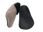 Custom Made Orthotics with a black carbon lining top cover