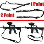 TRINITY 2 Point/1 Point Tactical Bungee Sling For Tactical Paintball Markers.