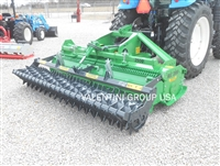 "102"" Stone Burier, Soil Inverter: Seed Bed/Turf Prep in Rockiest Soil: Model Iris 2500"