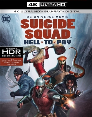 DCU: Suicide Squad: Hell To Pay 4K UHD Blu-ray (Rental)