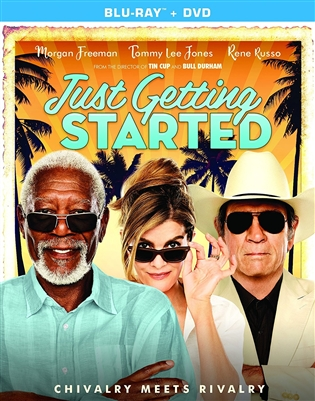Just Getting Started 01/18 Blu-ray (Rental)