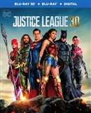 Justice League 3D 01/18 Blu-ray (Rental)