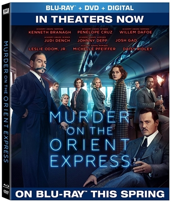 Murder On The Orient Express (2017) Blu-ray (Rental)