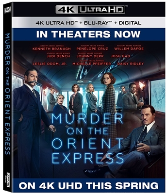 Murder On The Orient Express 4K UHD Blu-ray (Rental)