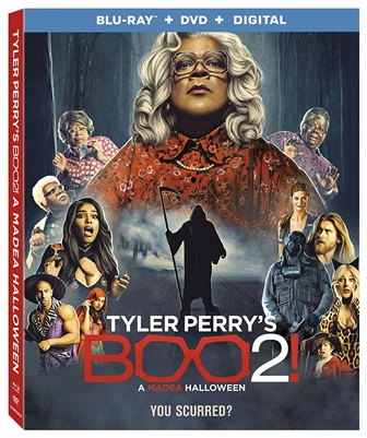 Tyler Perry's Boo 2! A Madea Halloween 01/18 Blu-ray (Rental)