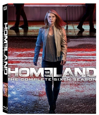 Homeland: Season 6 Disc 3 Blu-ray (Rental)