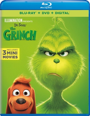 (Releases 2019/02/05) Dr. Seuss' The Grinch 01/19 Blu-ray (Rental)