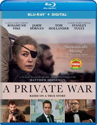 (Releases 2019/02/05) Private War 01/19 Blu-ray (Rental)