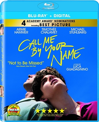 Call Me by Your Name 02/18 Blu-ray (Rental)