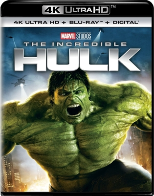 Incredible Hulk 4K UHD Blu-ray (Rental)