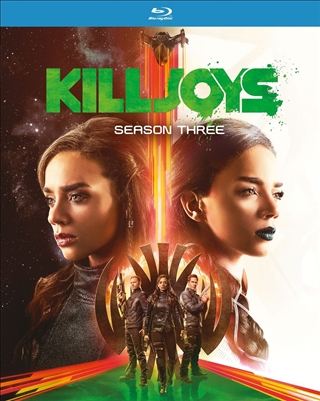 Killjoys Season 3 Disc 2 02/18 Blu-ray (Rental)
