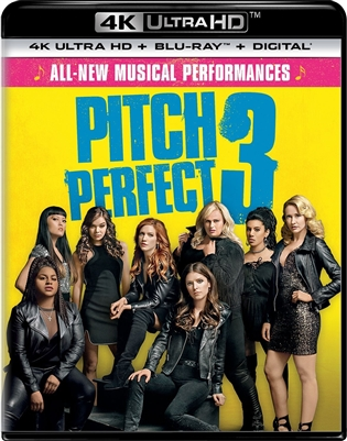 Pitch Perfect 3 4K UHD Blu-ray (Rental)