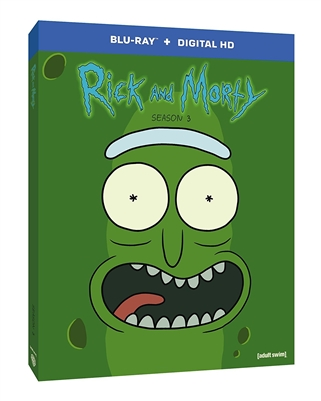 Rick and Morty Season 3 02/18 Blu-ray (Rental)