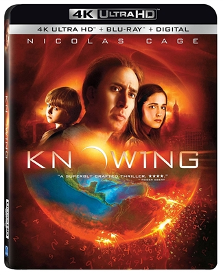 (Releases 2018/04/10) Knowing 4K UHD 02/18 Blu-ray (Rental)