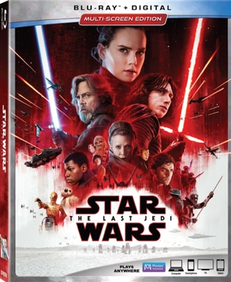 Star Wars - The Last Jedi 02/18 Blu-ray (Rental)