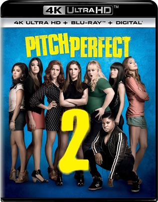 Pitch Perfect 2 4K UHD Blu-ray (Rental)